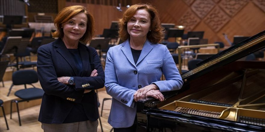 Piyanist Pekinel kardeşlerin albümü 'Uluslararası Klasik Müzik Ödülleri' video adayı