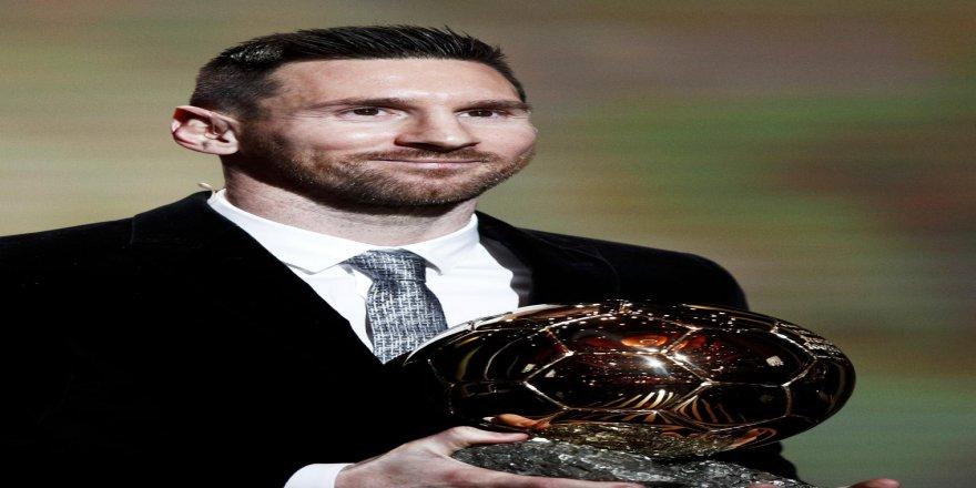 'Altın Top' ödülü Messi'nin