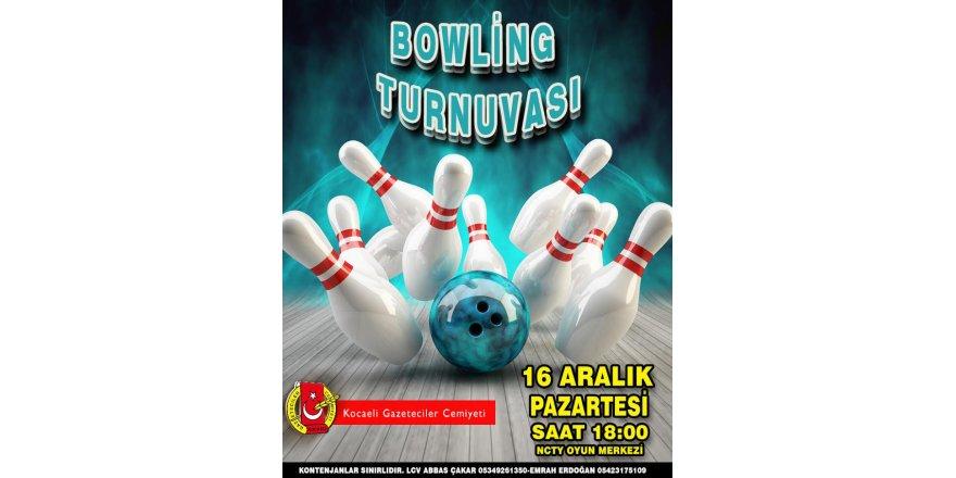 Bowling Turnuvasında Buluşacaklar