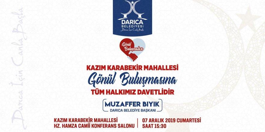 Halk meclisi Kazım Karabekir'de