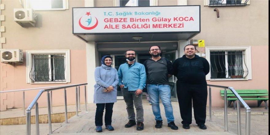 Gebze'de Aile Hekimlerine EBYS eğitimi başladı