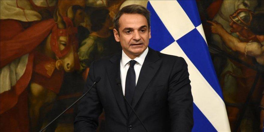 Yunanistan Başbakanı Miçotakis: 'Türkiye ile ilişkilerdeki zorluklar iyi niyet olduğunda aşılabilir'