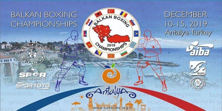Balkan Boks Şampiyonası Antalya'da yapılacak