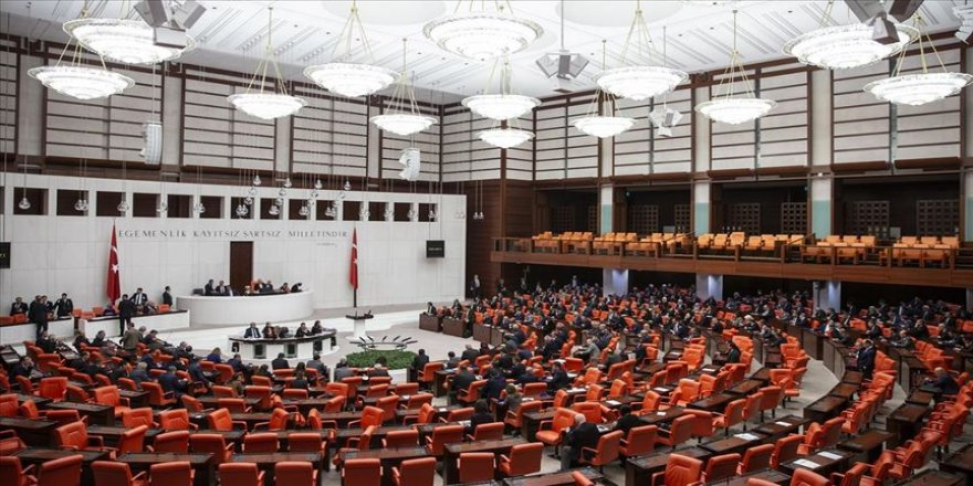İçişleri Bakanlığına ilişkin yeni düzenlemeler teklifi TBMM Genel Kurulunda kabul edildi