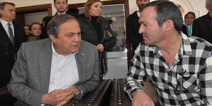 CHP'den Ceren Özdemir'in ailesine ziyaret