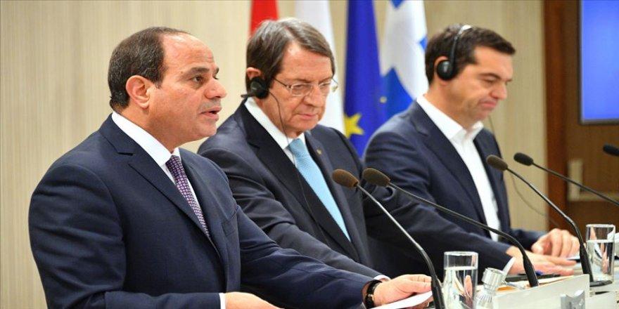 Sisi 2017 yılında Akdeniz'de 7 bin kilometrekareyi Yunanistan'a bırakmış