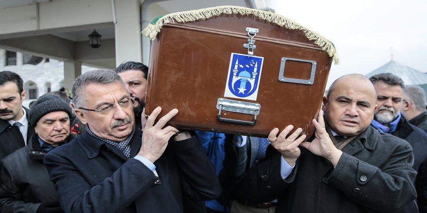 Lefkoşa Büyükelçisi Başçeri'nin babası son yolculuğa uğurlandı