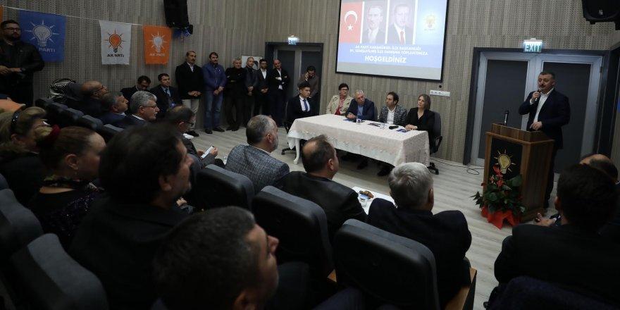"""""""Büyükşehir Belediyeciliği vizyonu Cumhurbaşkanımızın vizyonudur"""""""