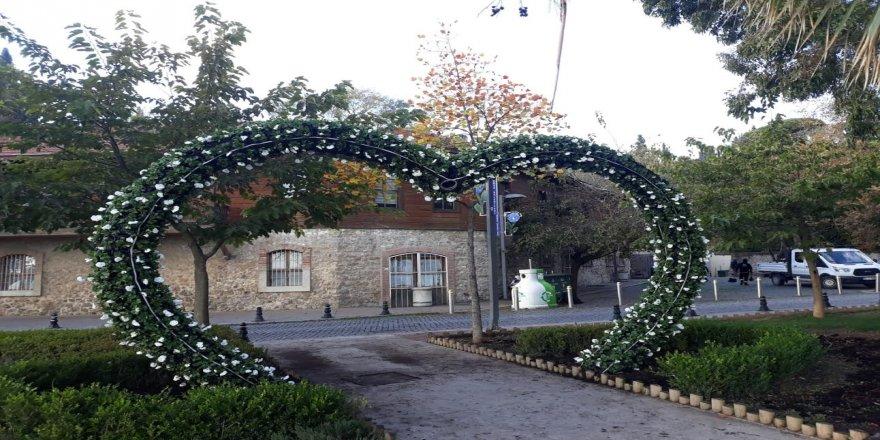 Kış ayına dayanıklı çiçeklerle Gebze'ye yeni görünüm kazandırılıyor !