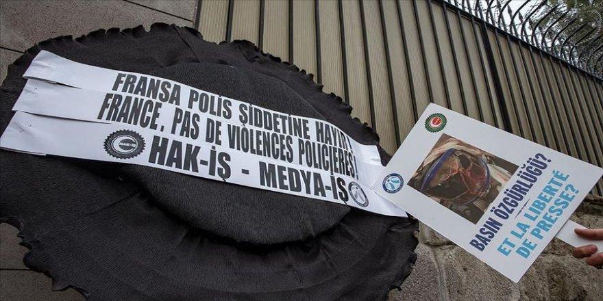 Fransız polisinin AA Foto Muhabiri Yalçın'ı yaralaması meslek örgütlerince kınandı