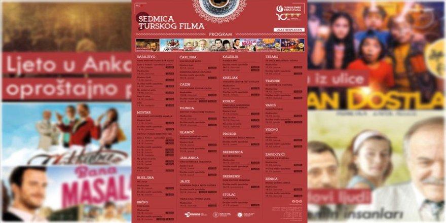 Bosna Hersekli sinemaseverler Türk filmlerine doyacak