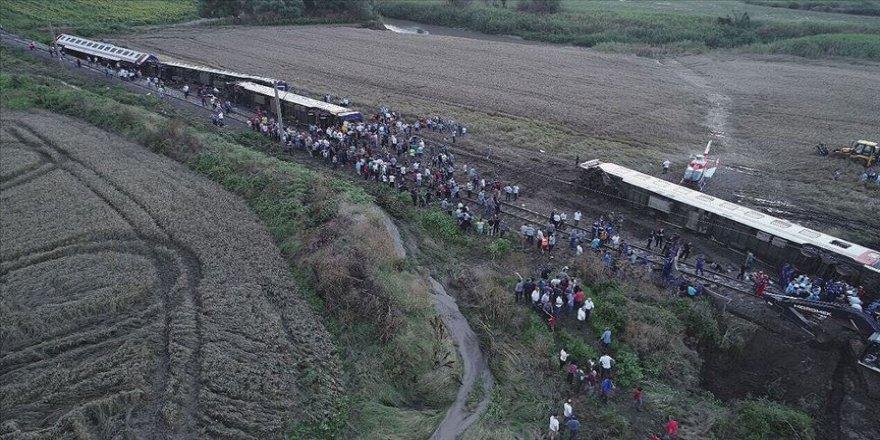 Çorlu'daki tren kazasının sanığı Kurt: Mühendisler balast tutucuya gerek görmemişler