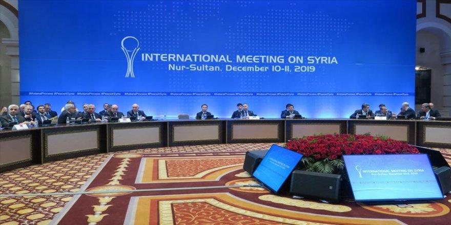 Dışişleri: Suriye toplantısında ayrılıkçı gündemler reddedilmiştir