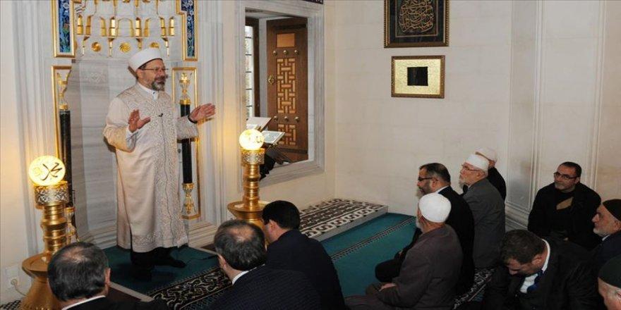 Diyanet İşleri Başkanı Erbaş: Müslümanca bir tavır içerisinde olmalıyız