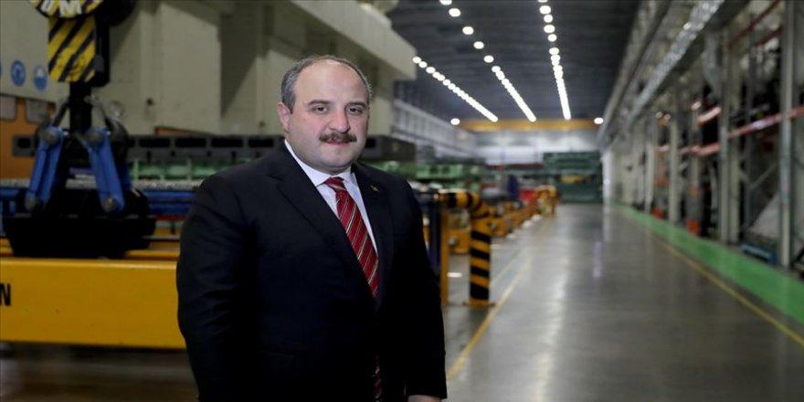 Bakan Mustafa Varank 'sanayi üretimindeki artışı' değerlendirdi
