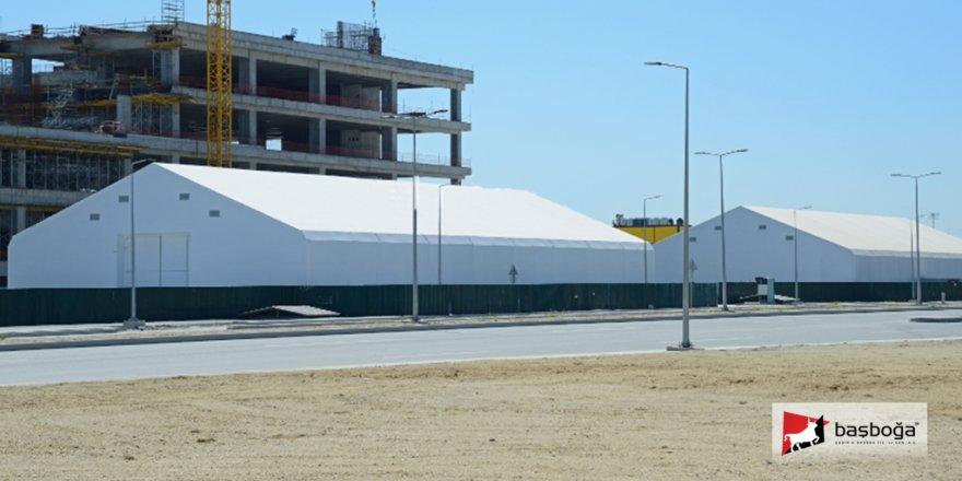İstanbul Havalimanı THY Cargo Tesisi İnşaatı ve Çelik Konstrüksiyonlu Çadırların Fonksiyonları
