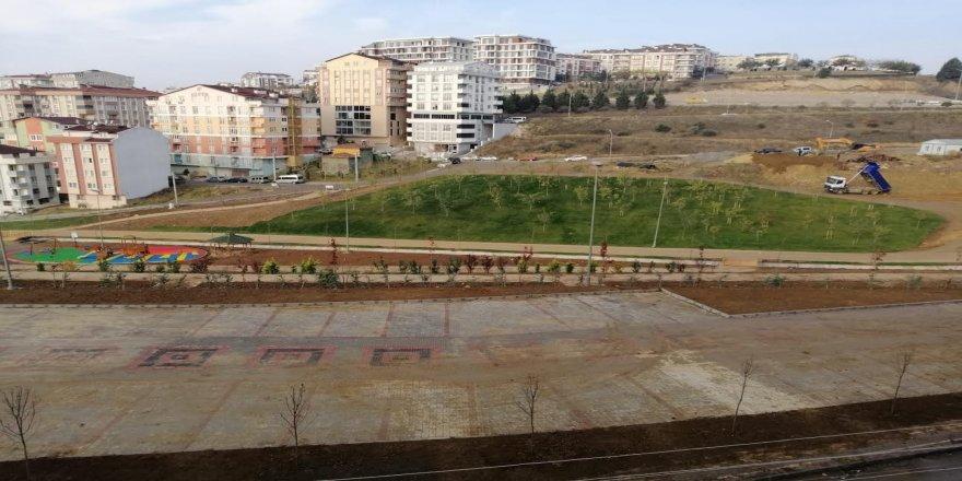 Gebze'nin en büyük parkında sona yaklaşılıyor
