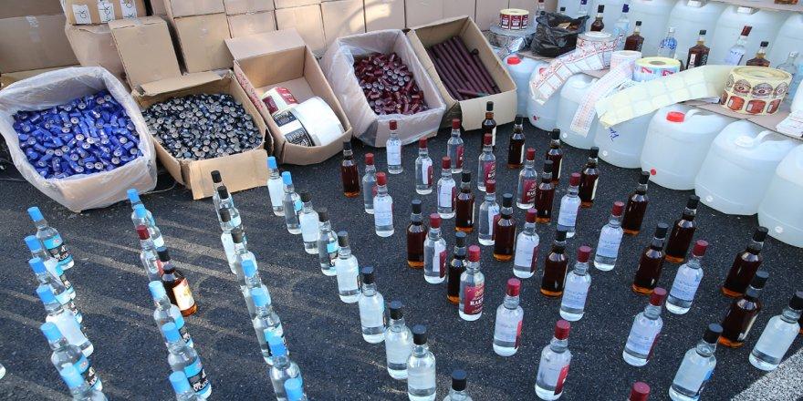 9 ildeki sahte içki operasyonunda gözaltı sayısı 80'e yükseldi