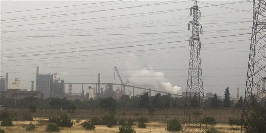 Fabrikada su kaçağının sıcak metale temas etmesi nedeniyle patlama oldu