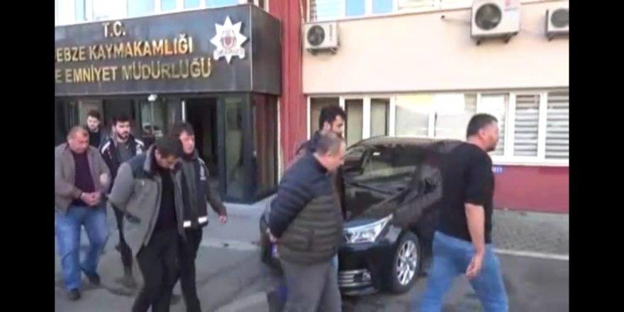 Gebze'de sahte evrak çetesi tutuklandı