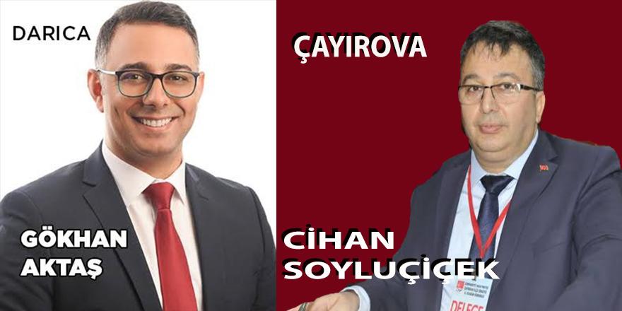CHP Darıca ve Çayırova İlçe Başkanları Belli Oldu