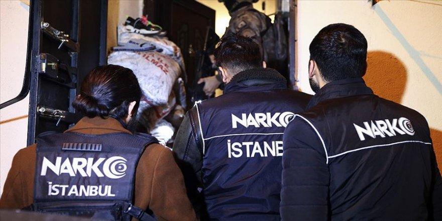 İstanbul'da uyuşturucu satıcılarına yönelik operasyon: 103 gözaltı