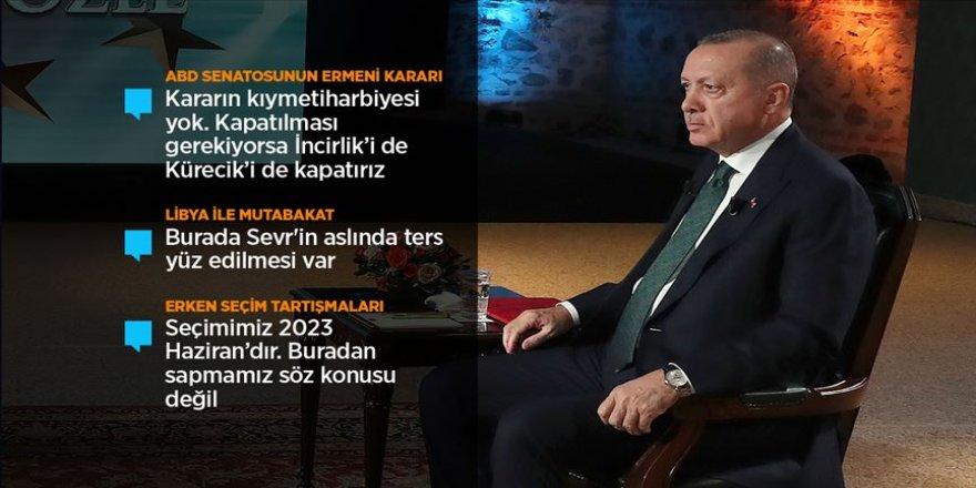 Cumhurbaşkanı Erdoğan: Kapatılması gerekiyorsa İncirlik'i de Kürecik'i de kapatırız
