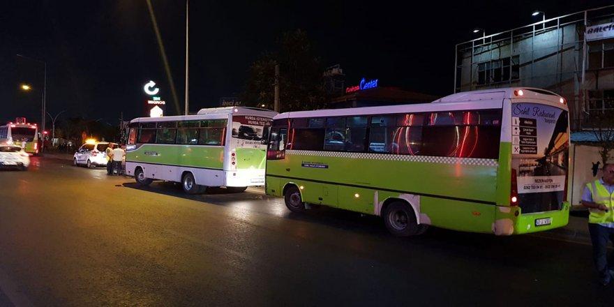 Gebze'de toplu taşıma araçlarında paralı binişler dün itibariyle kaldırıldı