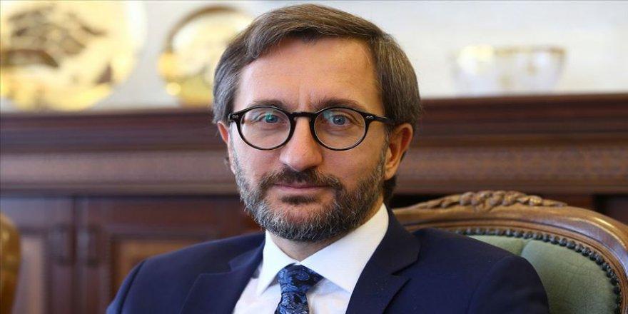 İletişim Başkanı Altun: Küresel mülteci krizinin insanlık için kritik sorun olduğu unutulmamalı