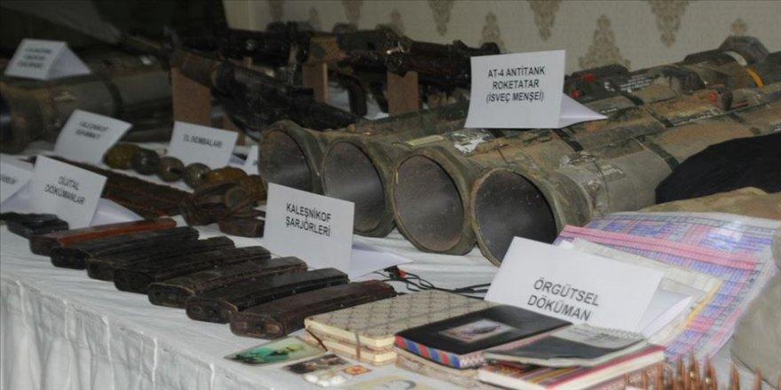 Mardin'de 4 teröristin etkisiz hale getirildiği sığınak imha edildi