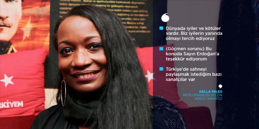 Della Miles: İslam iyi bir yol ve bu iyi yolu tanıtmayı hedefliyorum