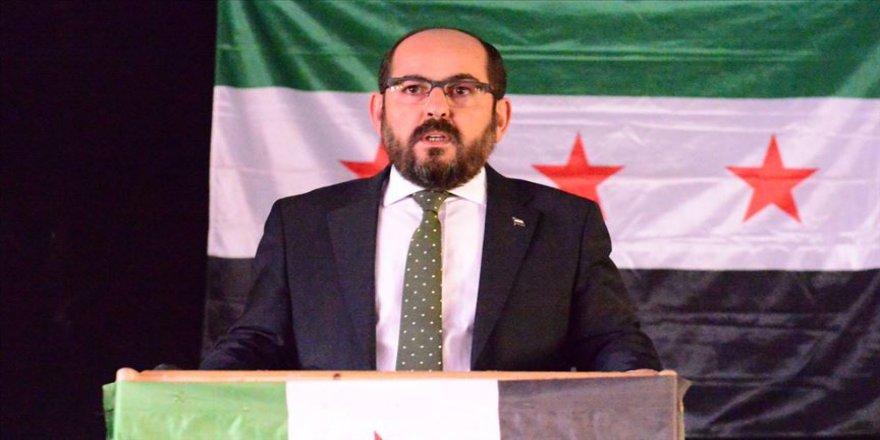 Suriye Geçici Hükümeti Başkanı Mustafa: İdlib'de büyük bir katliam yapılıyor