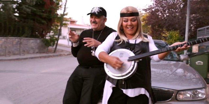 Safiye Soyman ve Faik Öztürk, rap şarkı çıkardı