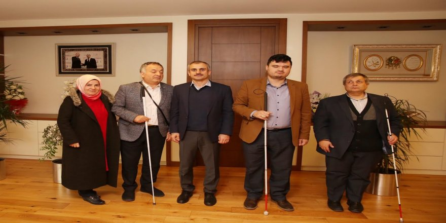 Lokman Ayva'dan Başkan Çiftçi'ye ziyaret