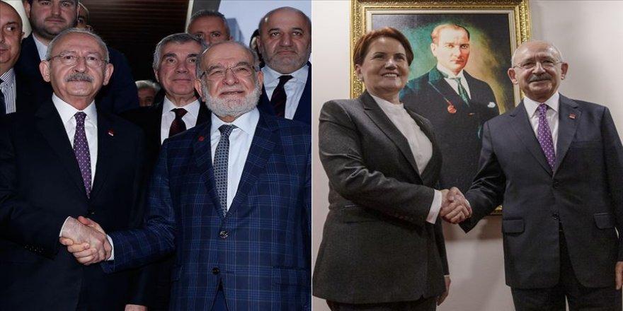 Kılıçdaroğlu, Karamollaoğlu ve Akşener ile Libya tezkeresi konusunu görüştü