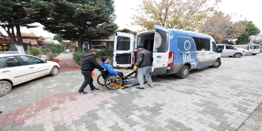 Engelsiz Taksi ile 5 bin 597 engelli vatandaşa ulaşım hizmeti