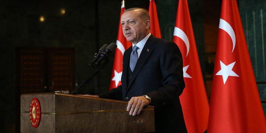 Cumhurbaşkanı Erdoğan: Ülkemize yeni eserler kazandırmak için çalışmaya devam edeceğiz