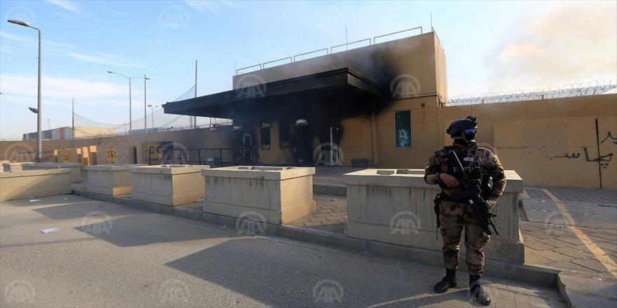 Irak ordusu: Tüm protestocular ABD Büyükelçiliği önünden çekild