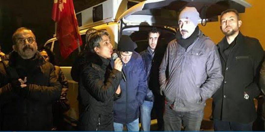 Yeni yıla grevdeki Trelleborg işçileriyle girdiler