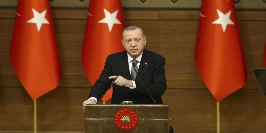 Erdoğan: Artık güvenliği sadece surlar,hendekler  ve kolluk güçleriyle koruyacak durumda değiliz