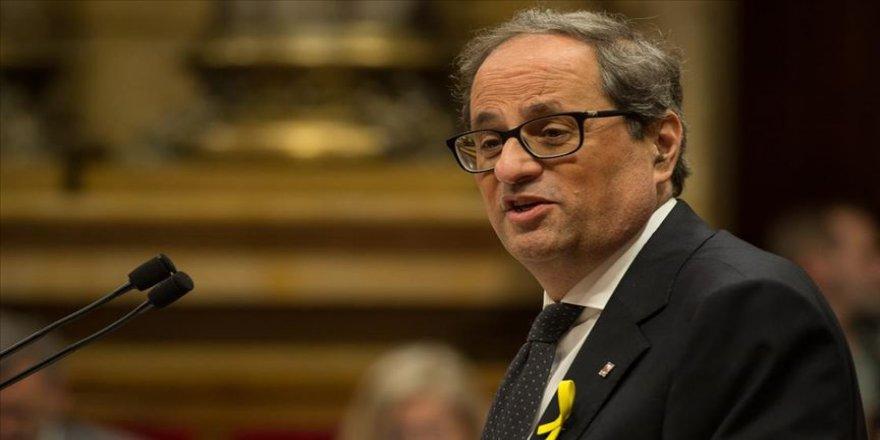 Katalonya Özerk Hükümet Başkanı Torra'dan 'görevden alınma kararı'na ilişkin açıklama