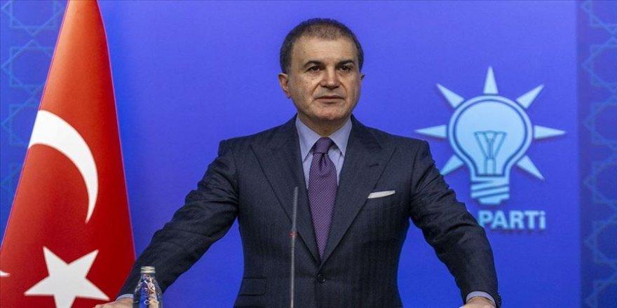AK Parti Sözcüsü Çelik: Devlet töreninde bir ayrımcılık yapılması asla söz konusu değildir