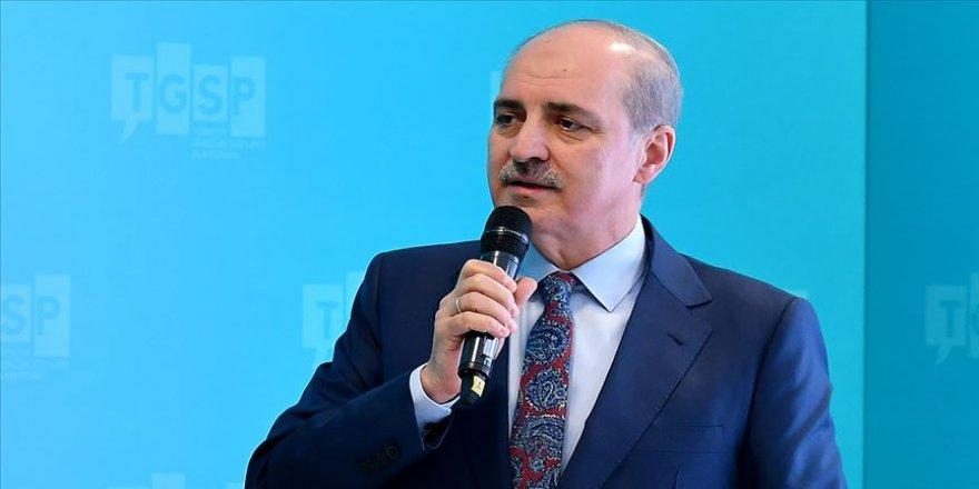 AK Parti Genel Başkanvekili Kurtulmuş: Bölge kanlı satranç tahtasına döndü