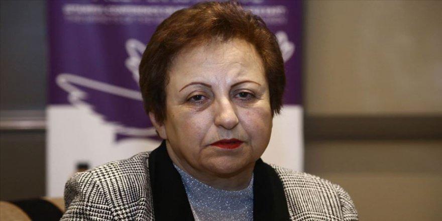 Nobel ödüllü İranlı Ebadi, Suriye ve İran'daki gelişmeleri değerlendirdi