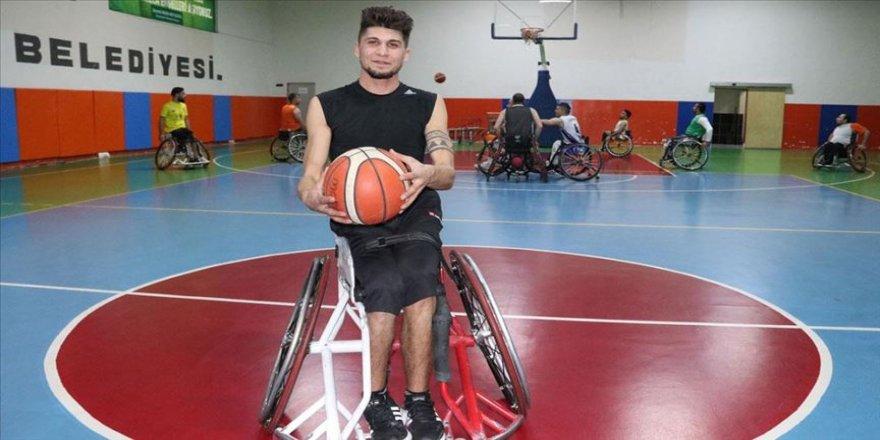 Tekerlekli sandalye basketbolu hayata bakışını değiştirdi