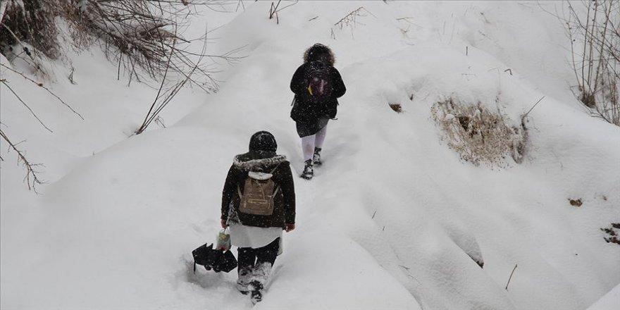 Eğitime bir gün 'kar tatili'