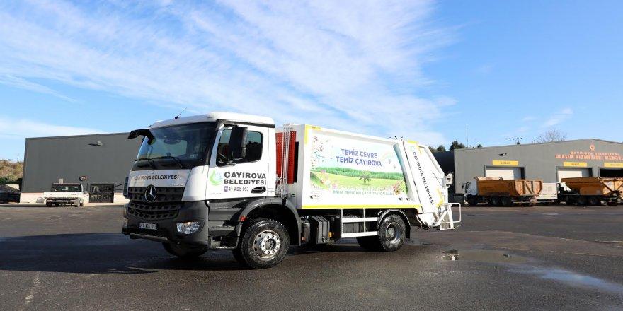 Belediye çöp kamyonları ile araç filosunu güçlendirdi
