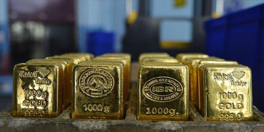 Altının gram fiyatı yüzde 1 düştü