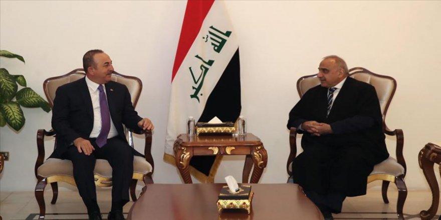 Dışişleri Bakanı Çavuşoğlu Irak Başbakanı Abdulmehdi ile görüştü