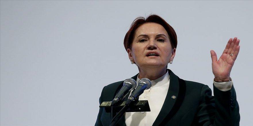 İYİ Parti Genel Başkanı Akşener: İstanbullu buna 'hayır' diyecek